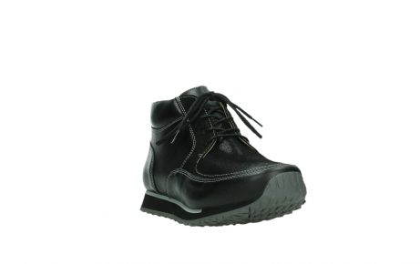 wolky lace up boots 05802 e boot 20009 black stretch leather_5