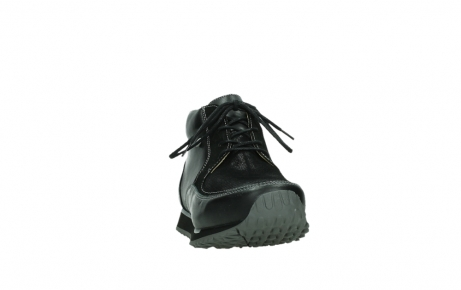 wolky lace up boots 05802 e boot 20009 black stretch leather_6