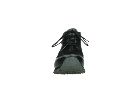 wolky lace up boots 05802 e boot 20009 black stretch leather_7