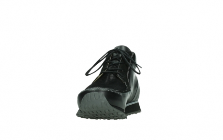 wolky lace up boots 05802 e boot 20009 black stretch leather_8