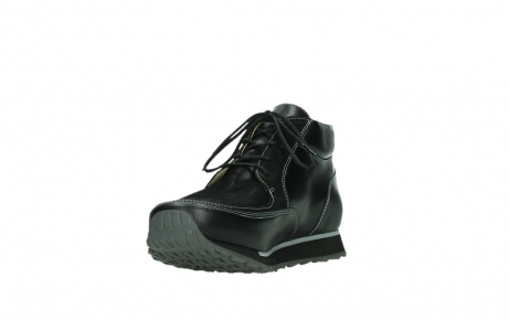 wolky lace up boots 05802 e boot 20009 black stretch leather_9