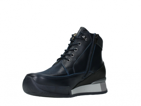 wolky lace up boots 05881 victoria 24800 blue stretch leather_10