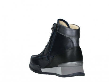 wolky lace up boots 05881 victoria 24800 blue stretch leather_17