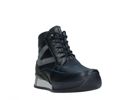 wolky lace up boots 05881 victoria 24800 blue stretch leather_5