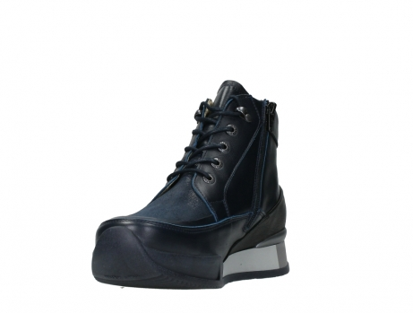 wolky lace up boots 05881 victoria 24800 blue stretch leather_9