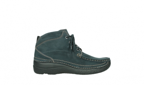 wolky lace up boots 06242 roll shoot 16800 blue nubuck_1