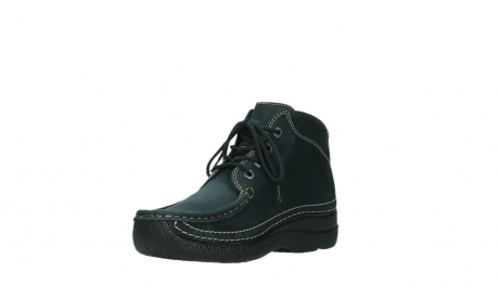 wolky lace up boots 06242 roll shoot 16800 blue nubuck_10