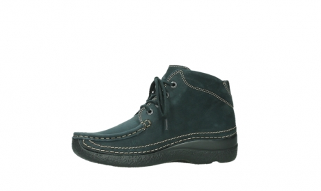 wolky lace up boots 06242 roll shoot 16800 blue nubuck_12