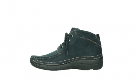wolky lace up boots 06242 roll shoot 16800 blue nubuck_13