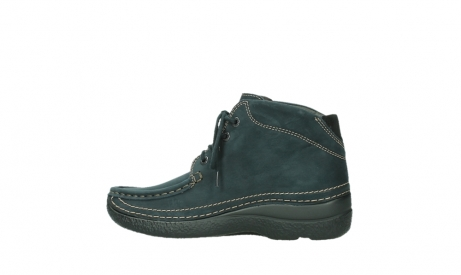 wolky lace up boots 06242 roll shoot 16800 blue nubuck_14