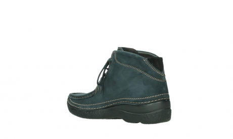 wolky lace up boots 06242 roll shoot 16800 blue nubuck_16