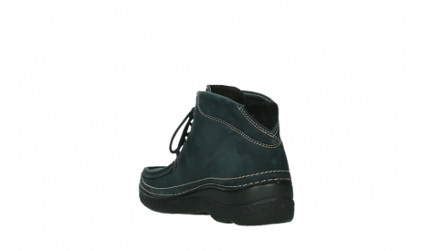 wolky lace up boots 06242 roll shoot 16800 blue nubuck_17