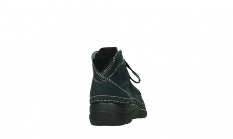 wolky lace up boots 06242 roll shoot 16800 blue nubuck_20