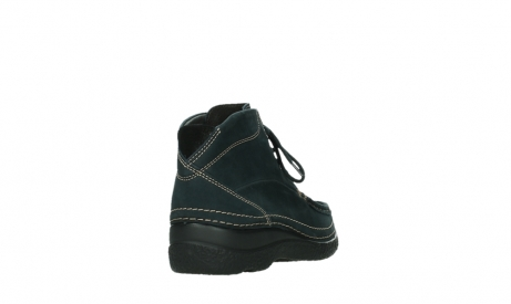 wolky lace up boots 06242 roll shoot 16800 blue nubuck_21