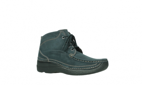 wolky lace up boots 06242 roll shoot 16800 blue nubuck_3