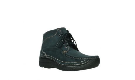 wolky lace up boots 06242 roll shoot 16800 blue nubuck_4