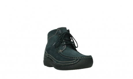 wolky lace up boots 06242 roll shoot 16800 blue nubuck_5