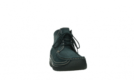 wolky lace up boots 06242 roll shoot 16800 blue nubuck_6