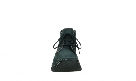 wolky lace up boots 06242 roll shoot 16800 blue nubuck_7