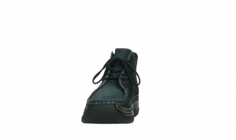 wolky lace up boots 06242 roll shoot 16800 blue nubuck_8