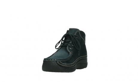wolky lace up boots 06242 roll shoot 16800 blue nubuck_9