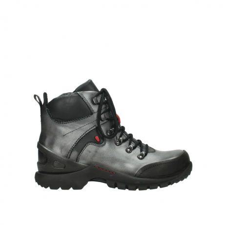 wolky lace up boots 06500 city tracker 30210 anthracite leather