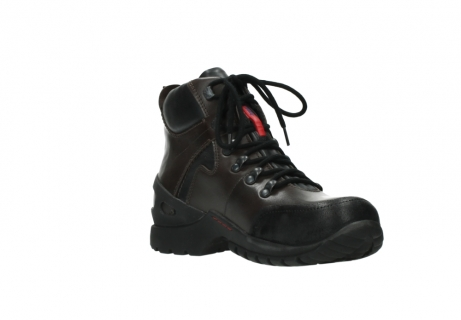 wolky lace up boots 06500 city tracker 30300 brown leather_16