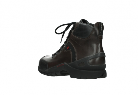 wolky lace up boots 06500 city tracker 30300 brown leather_4