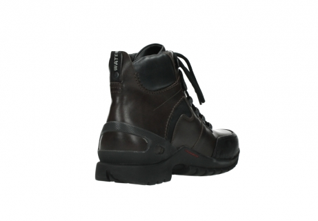 wolky lace up boots 06500 city tracker 30300 brown leather_9