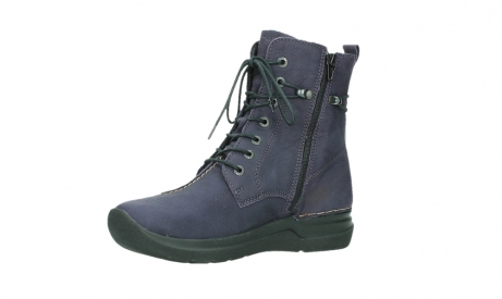 wolky lace up boots 06601 walla walla 11600 purple nubuckleather_11