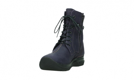 wolky lace up boots 06601 walla walla 11600 purple nubuckleather_9