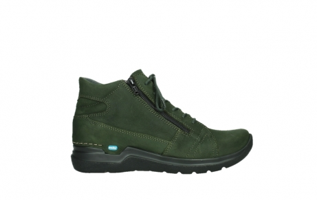 wolky lace up boots 06606 why 11735 forest green nubuck_1