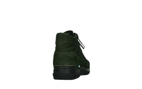 wolky lace up boots 06606 why 11735 forest green nubuck_20