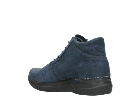 wolky lace up boots 06606 why 11800 blue nubuck_16