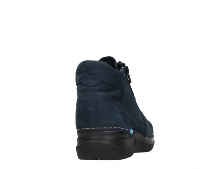 wolky lace up boots 06606 why 11800 blue nubuck_20