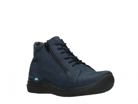 wolky lace up boots 06606 why 11800 blue nubuck_4