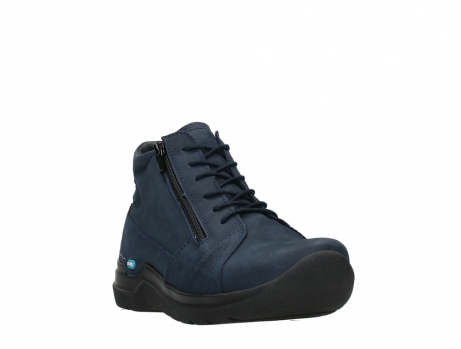 wolky lace up boots 06606 why 11800 blue nubuck_5