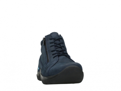 wolky lace up boots 06606 why 11800 blue nubuck_6