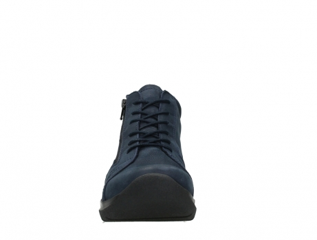 wolky lace up boots 06606 why 11800 blue nubuck_7