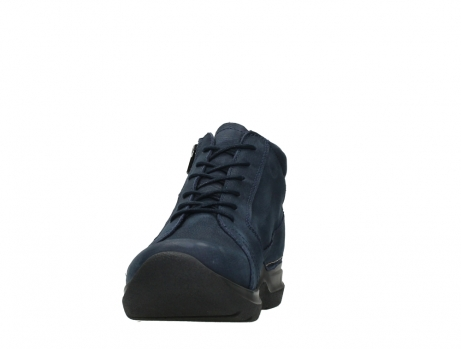 wolky lace up boots 06606 why 11800 blue nubuck_8