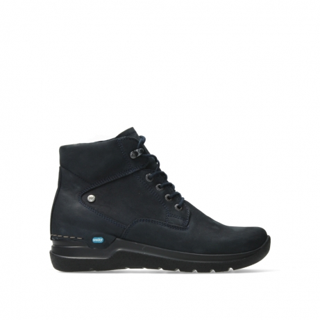 wolky lace up boots 06612 whynot 16800 blue nubuck