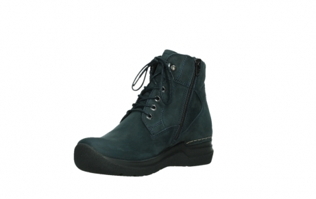 wolky lace up boots 06612 whynot 16800 blue nubuck_10