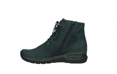 wolky lace up boots 06612 whynot 16800 blue nubuck_13