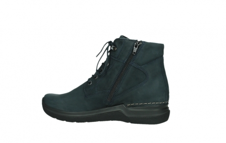 wolky lace up boots 06612 whynot 16800 blue nubuck_14