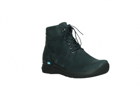 wolky lace up boots 06612 whynot 16800 blue nubuck_4