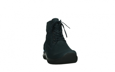 wolky lace up boots 06612 whynot 16800 blue nubuck_6