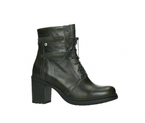 wolky ankle boots 08064 shalkar 27775 military green effect leather_2