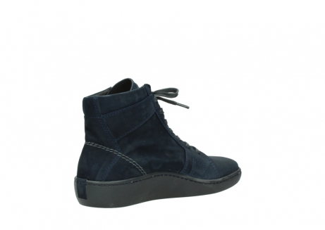 wolky lace up boots 08130 zeus 50800 blue oiled leather_10