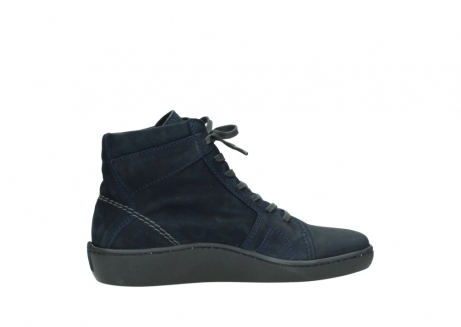 wolky lace up boots 08130 zeus 50800 blue oiled leather_12