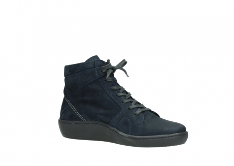 wolky lace up boots 08130 zeus 50800 blue oiled leather_15